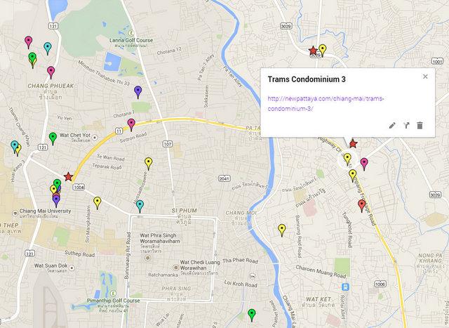 Trams Condominium 3 Map