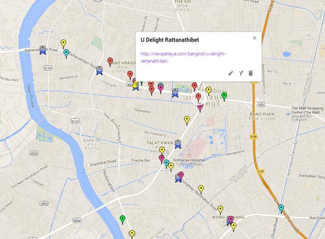 U Delight Rattanathibet Map