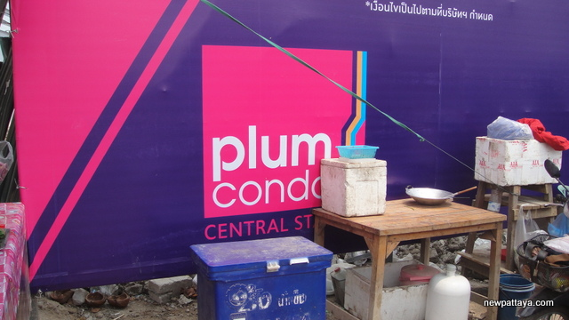 Plum Condo Central Station - 19 March 2015 - newpattaya.com