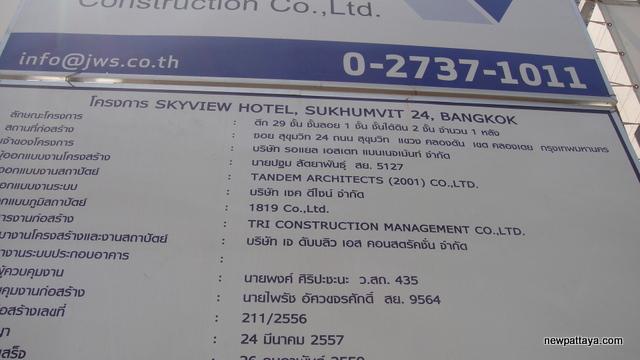 Skyview Hotel Sukhumvit 24 - 30 March 2015 - newpattaya.com