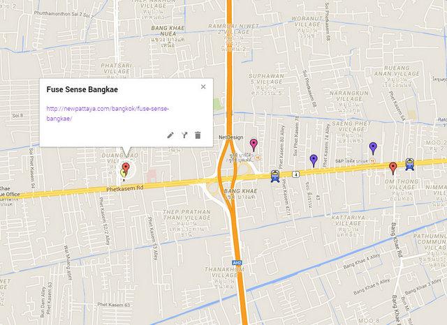 Fuse Sense Bangkae Map