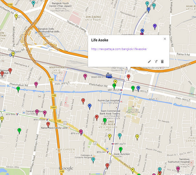 Life Asoke Map