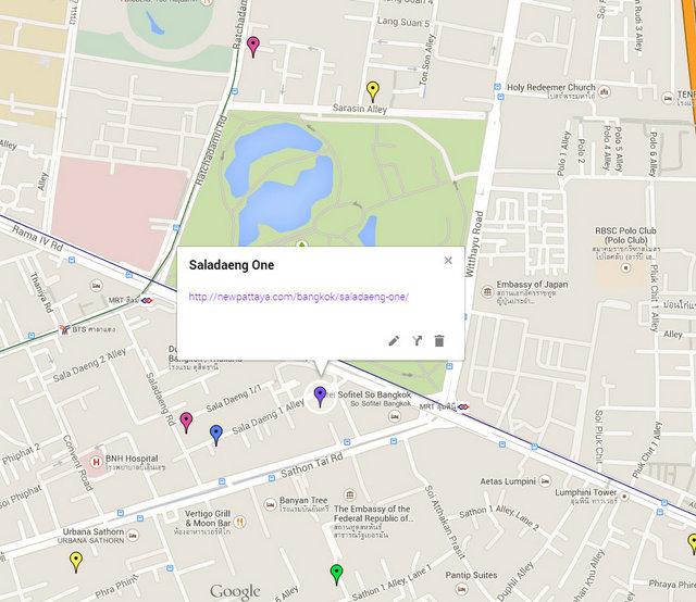 Saladaeng One Map