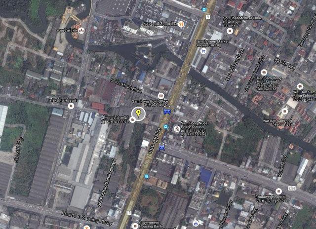 The Metropolis Samrong Interchange Map