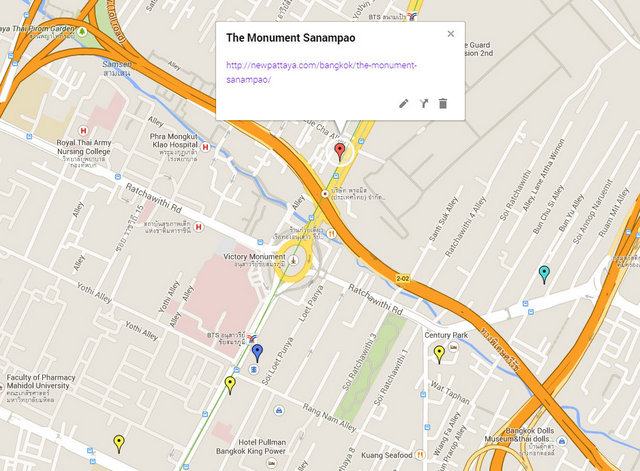 The Monument Sanampao Map