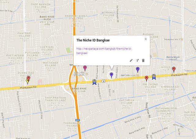 The Niche ID Bangkae Map