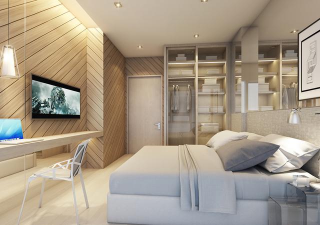 Whizdom Connect Sukhumvit Bedroom