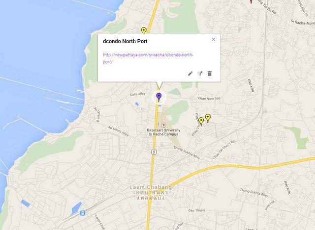 dcondo North Port Map