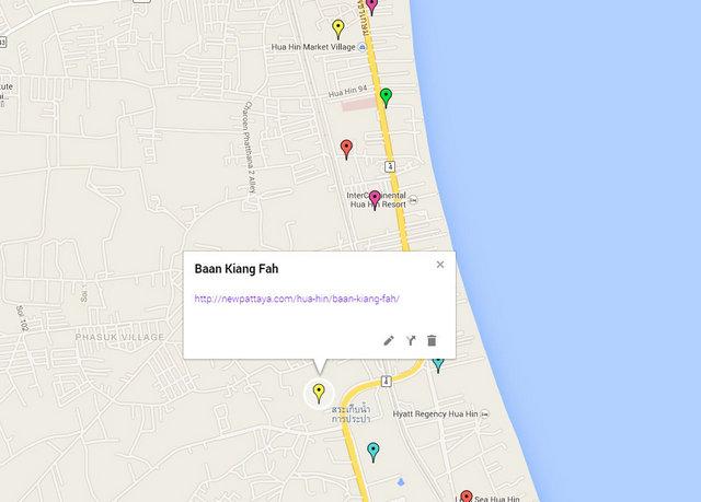 Baan Kiang Fah Map