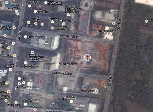 Sindhorn Residence Map