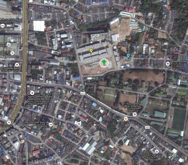 AEON Sriracha Shopping Center Map
