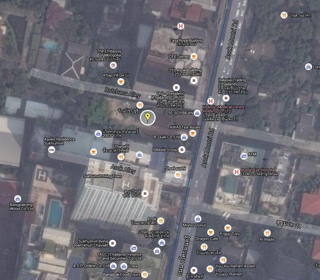The Lofts Asoke Map