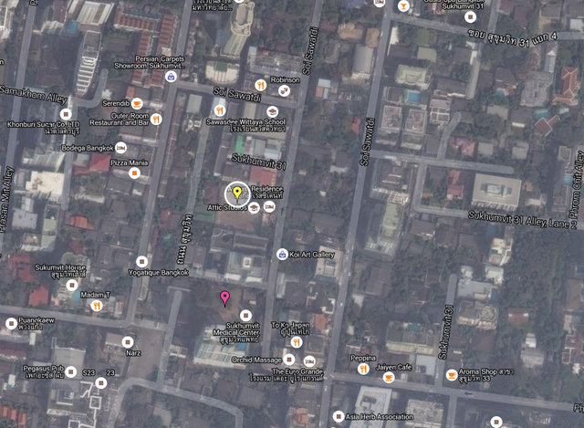Circle Sukhumvit 31 Map