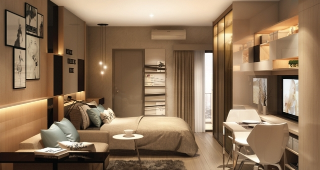 IDEO Sukhumvit 115 Bedroom
