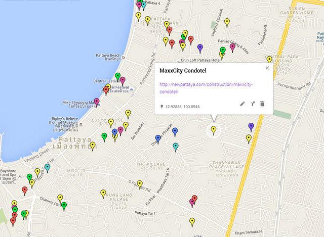 MaxxCity Condotel Map
