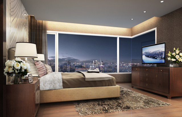 Menam Residences Bedroom