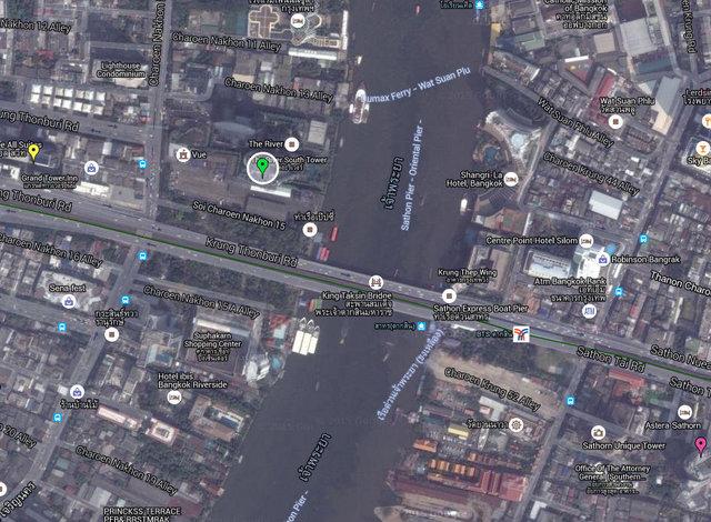 The River Condo by Raimon Land Map 01