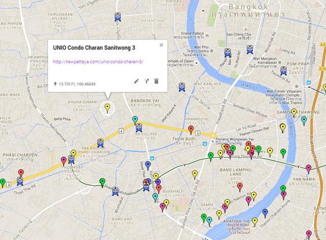 UNIO Condo Charan 3 Map