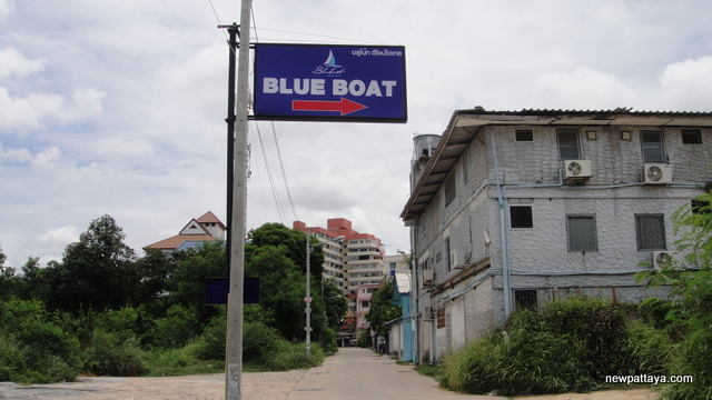Blue Boat Design Hotel pattaya