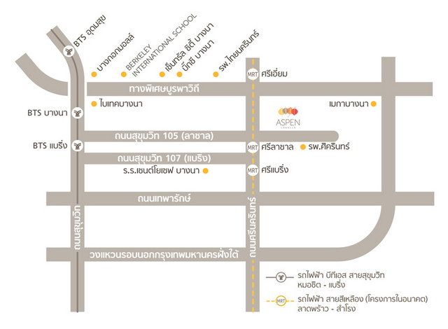 Aspen Lasalle Map