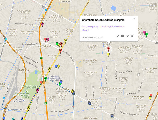 Chambers Chaan Map