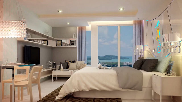 Seven Seas Condo Resort Phuket Bedroom