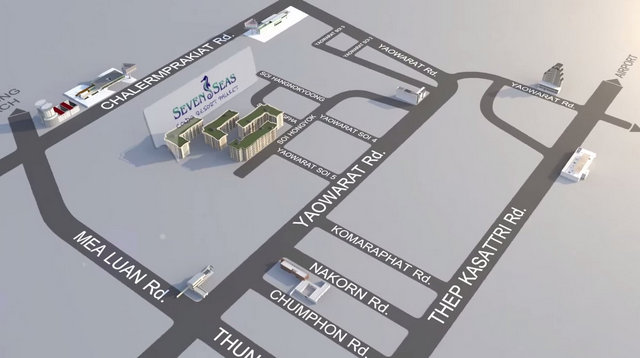 Seven Seas Condo Resort Phuket Map