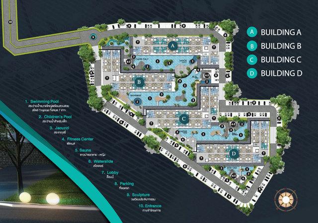 Seven Seas Condo Resort Phuket Master Plan
