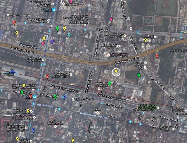 Show DC Bangkok Map