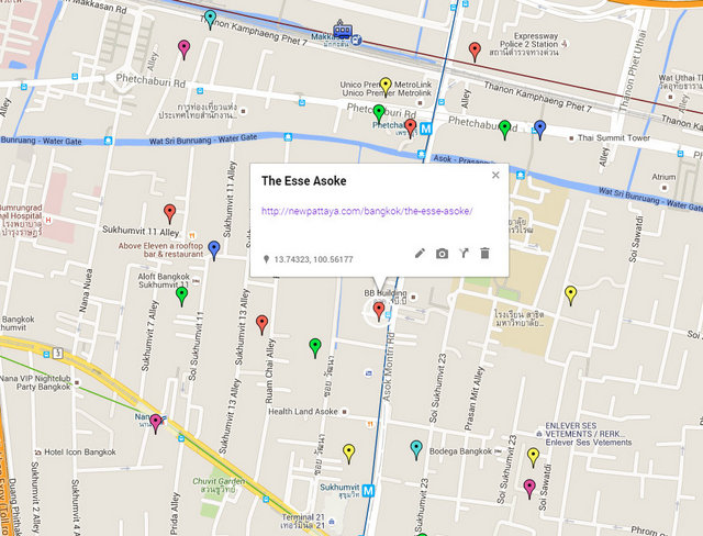 The Esse Asoke Map