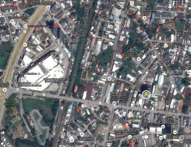 The Houze Khon Kaen Map