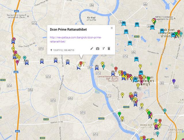 dcon Prime Rattanathibet Map