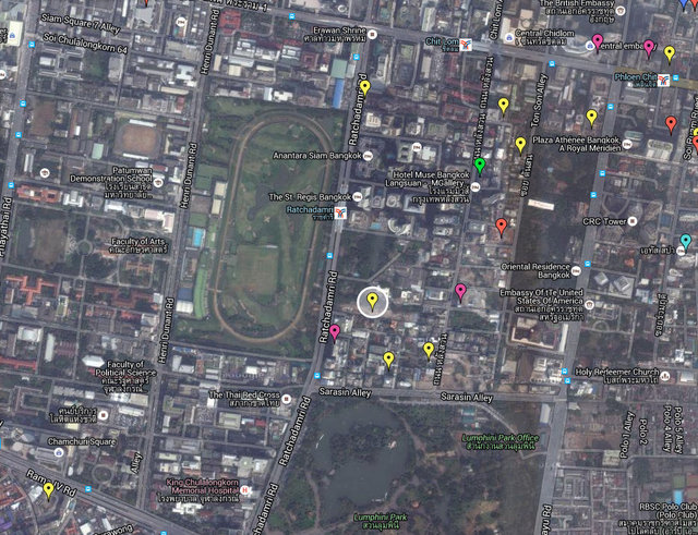 Areeya Residence Map