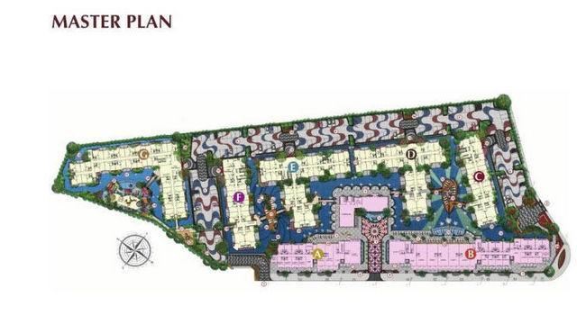 España Condo Resort Pattaya Master Plan