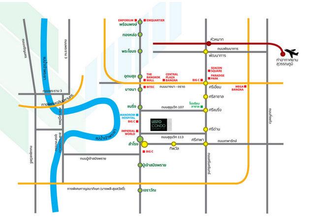 Lesto Condo Map
