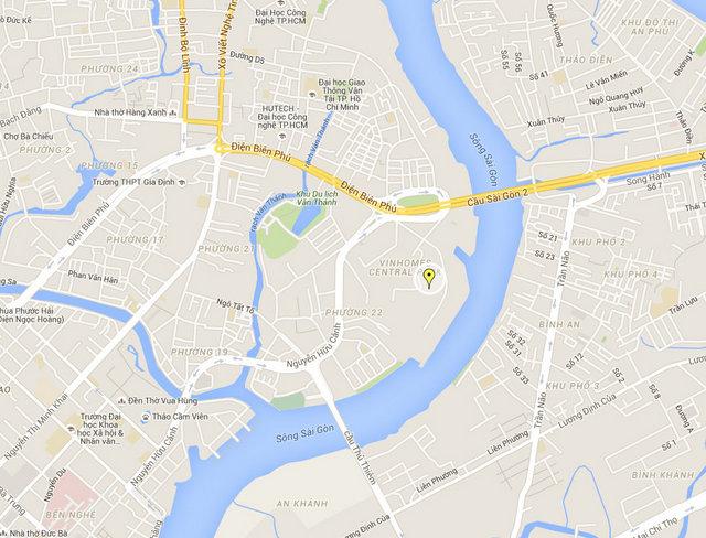 Vincom Landmark 81 Map