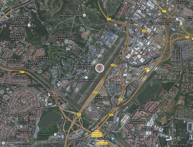 Bandar Malaysia Map