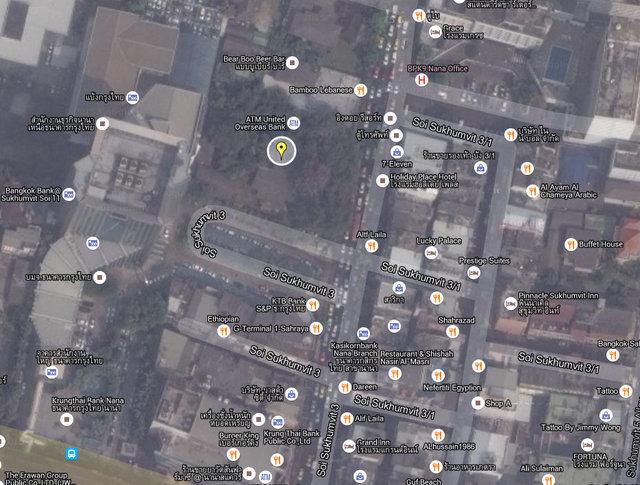 The Rich @ Nana Map