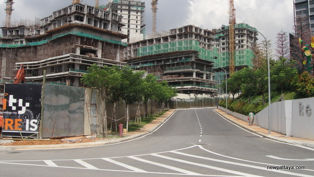 i-City under construction