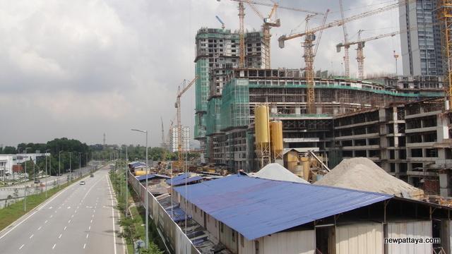i-City under construction