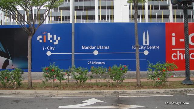 i-City LRT Station in 2020?
