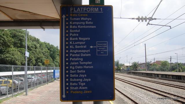 Padang Jawa Station