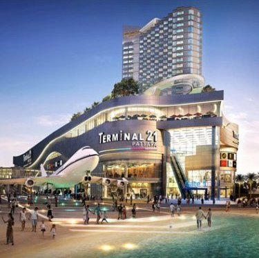 Terminal 21 Pattaya  Development  Promoting the new Pattaya