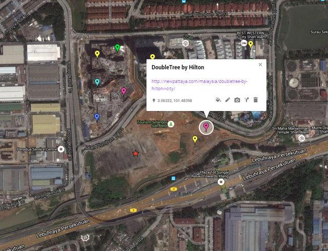 DoubleTree by Hilton @ i-City Map