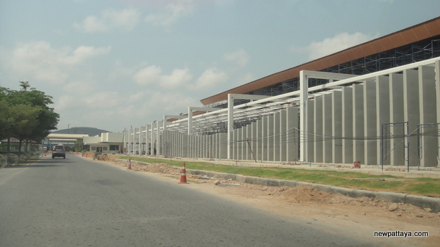 Pattaya's U-Tapao International Airport new terminal