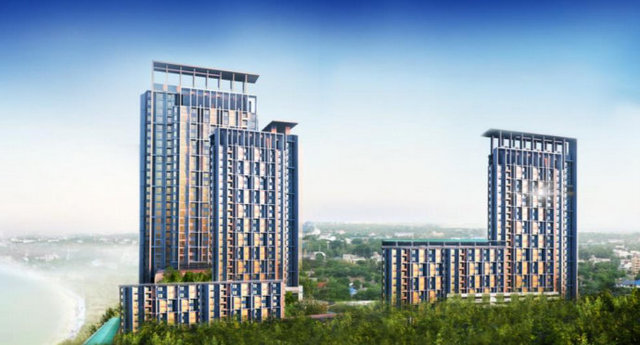 DaRa Harbour Sriracha high-rise Condominium