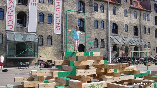 Legeplads ved Christianshavn ikke langt fra Knippels Bro
