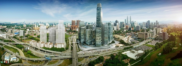 The Signature Tower at Tun Razak Exchange