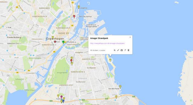 Amager Strandpark Map