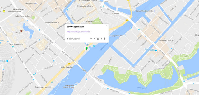 Blox Copenhagen Map